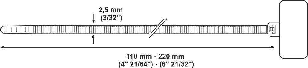 fascetta riapribile pollici - LEG961001
