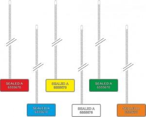 cableseal antitamper colorato