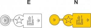 flagseal - Sigillo di sicurezza in alluminio per salami e insaccati - 15x61 mm