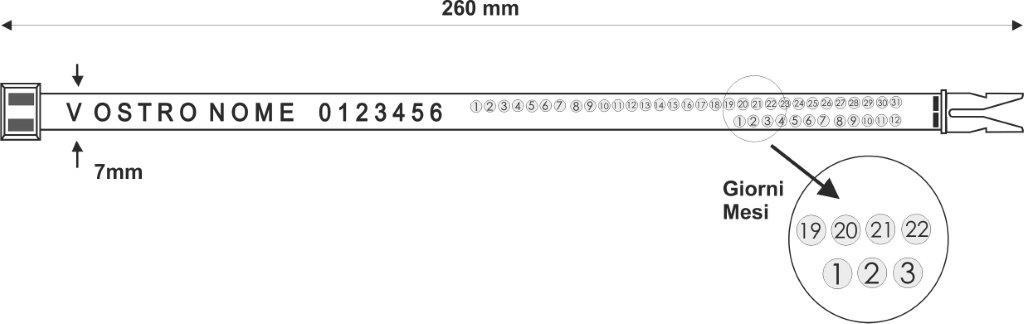 [cml_media_alt id='6375']hornseal 260 mm - Sigillo di sicurezza in plastica a fascetta.[/cml_media_alt]